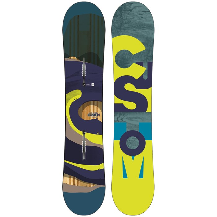 Burton - Custom Smalls Snowboard - Boys' 2016