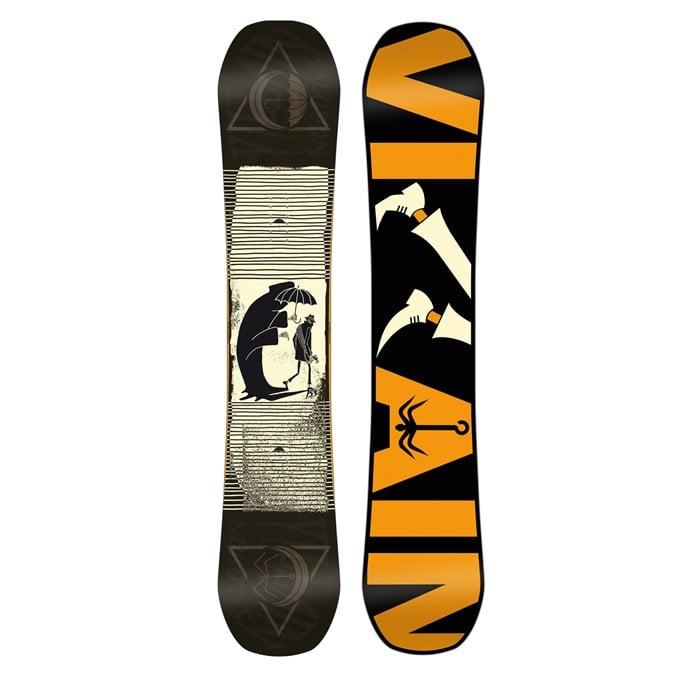 e0ecde094c5 Salomon The Villain Snowboard 2016