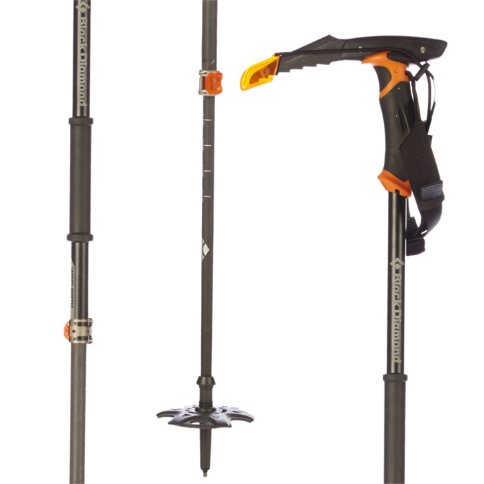Black Diamond Carbon Whippet Adjustable Ski Poles 2018   evo