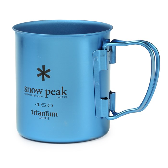 Snow Peak - 450ml Titanium Single-Walled Cup