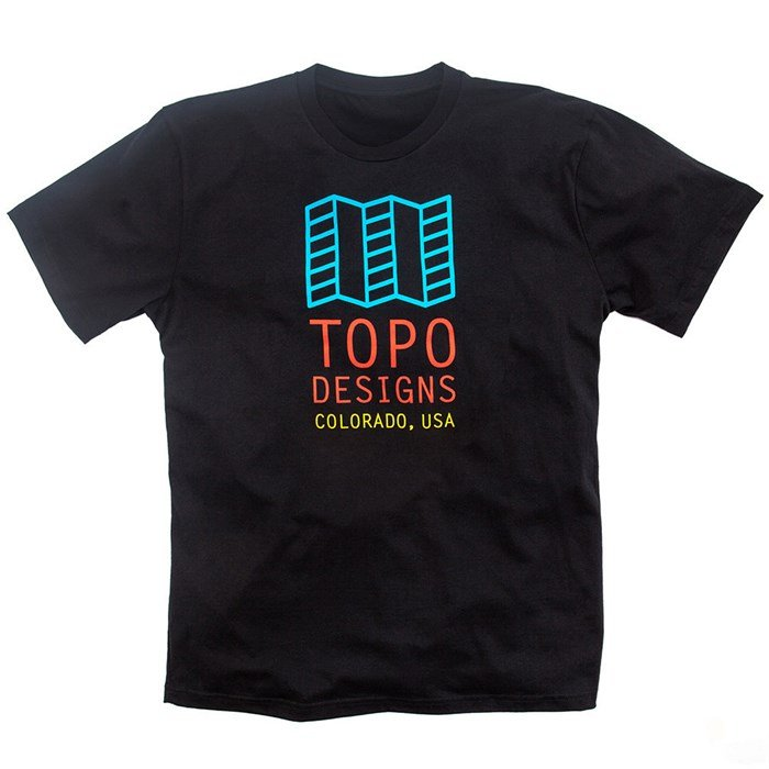 Topo designs original logo t shirt evo outlet for Original t shirt designs