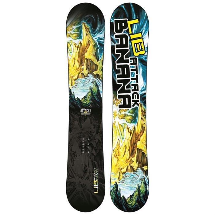 Lib Tech - Attack Banana EC2 BTX Snowboard 2016