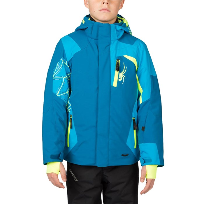 Spyder Challenger Jacket Boys Evo Outlet