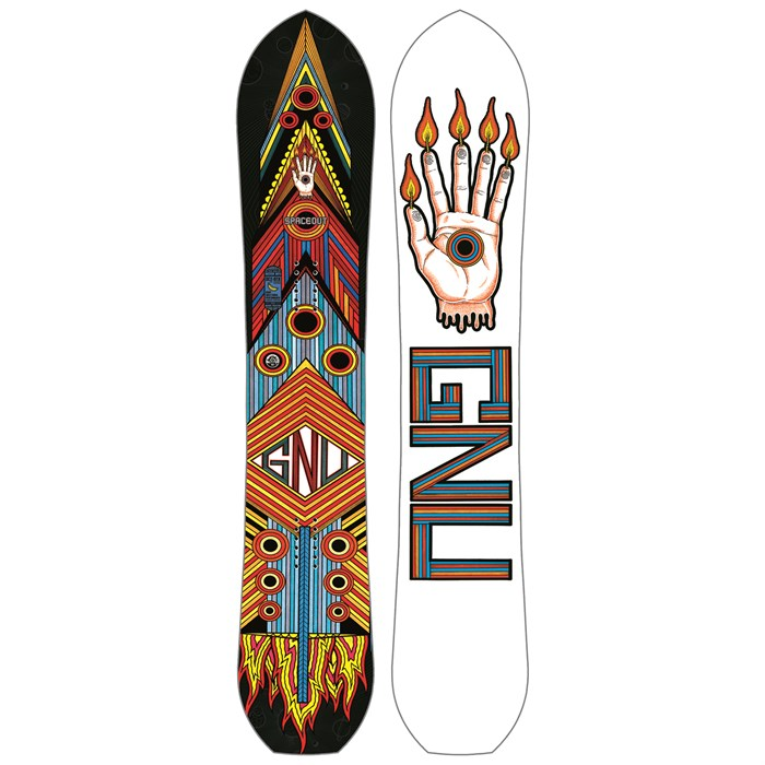 GNU Forest Bailey Space Out C2 BTX Snowboard 2016
