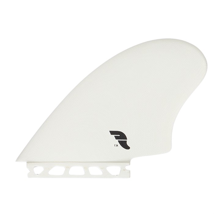 Future Fins K2 Twin Fin Surfboard Keel Set Black Fiberglass