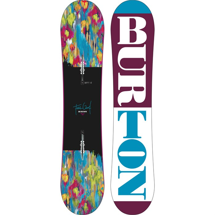 Burton - Feelgood Smalls Snowboard - Girls' 2016