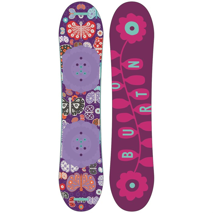 Burton - Burton Chicklet Snowboard - Girls' 2016