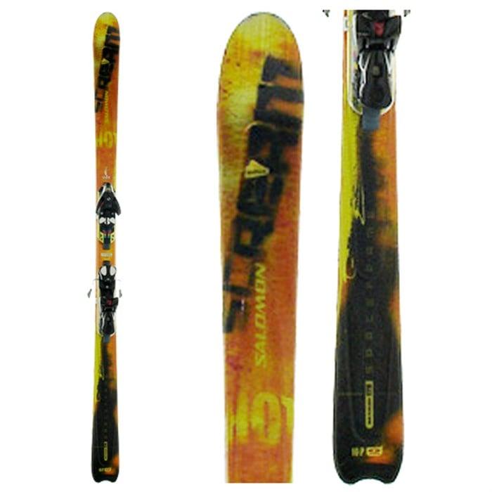 ad782ba0bd33 Salomon Scrambler 10 Hot Skis + Bindings - Used 2005
