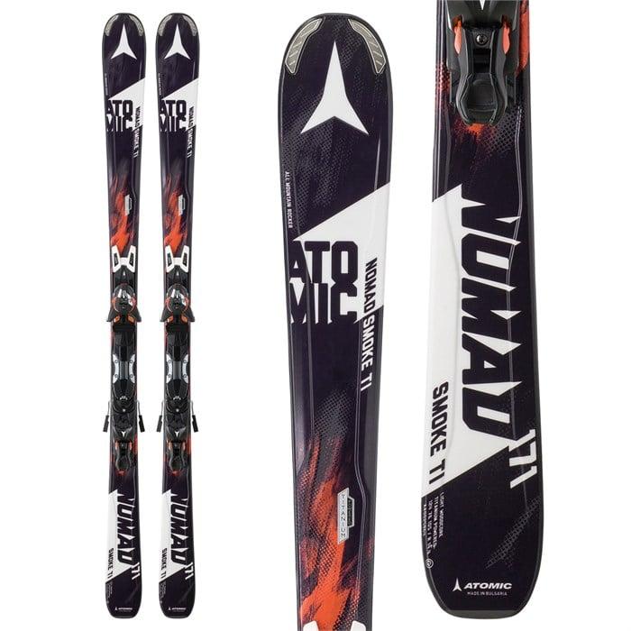 Atomic - Nomad Smoke Ti Skis + XTO 12 Skis Bindings 2016
