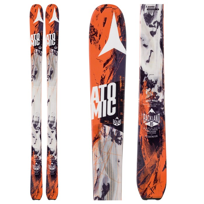 Atomic - Backland 85 Skis 2016
