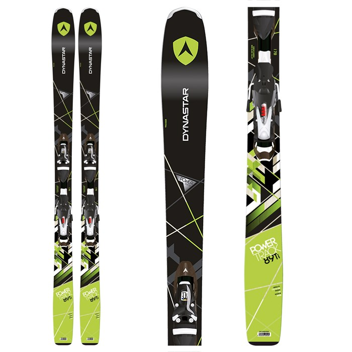 Dynastar - Powertrack 89 Skis + SPX 12 Bindings 2016