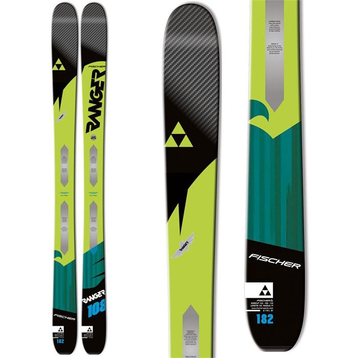 Fischer Ranger 108 Ti Skis 2016  cd7d62be6