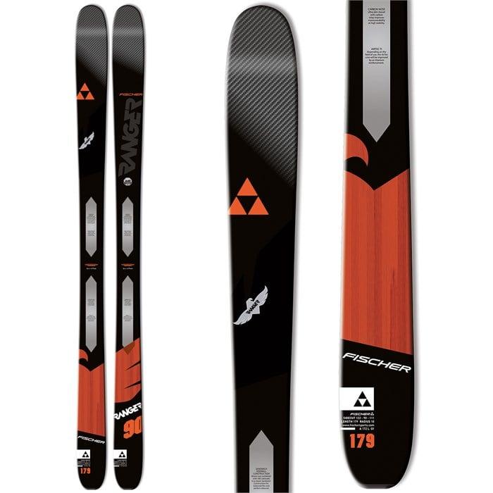 Fischer - Ranger 90 Ti Skis 2016 - Used
