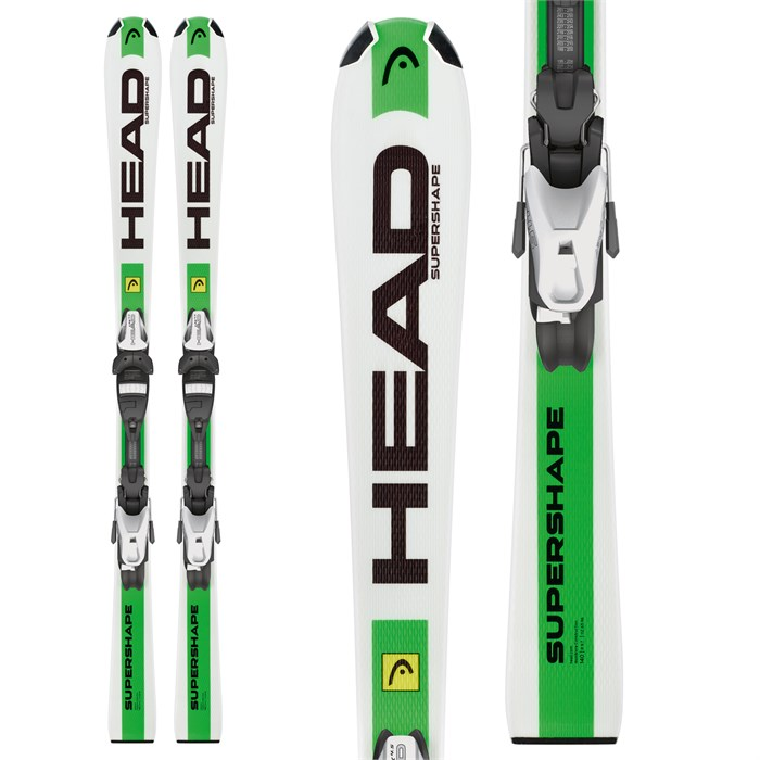 Head - Supershape Team LR Skis + LRX 4.5 Bindings - Boys' 2016