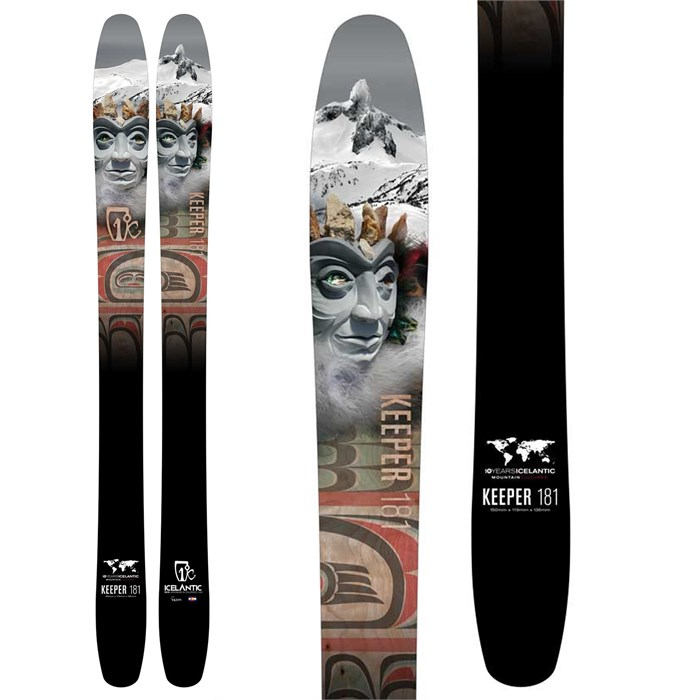 Icelantic - Keeper Skis 2016