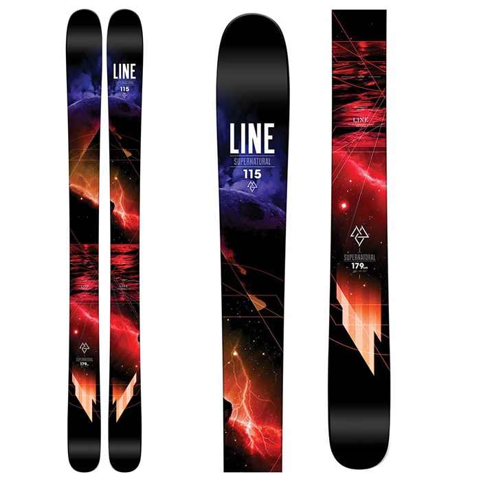 Line Skis - Supernatural 115 Skis 2016