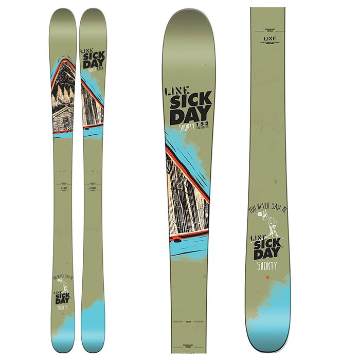 Line Skis - Sick Day Shorty Skis - Boys' 2016