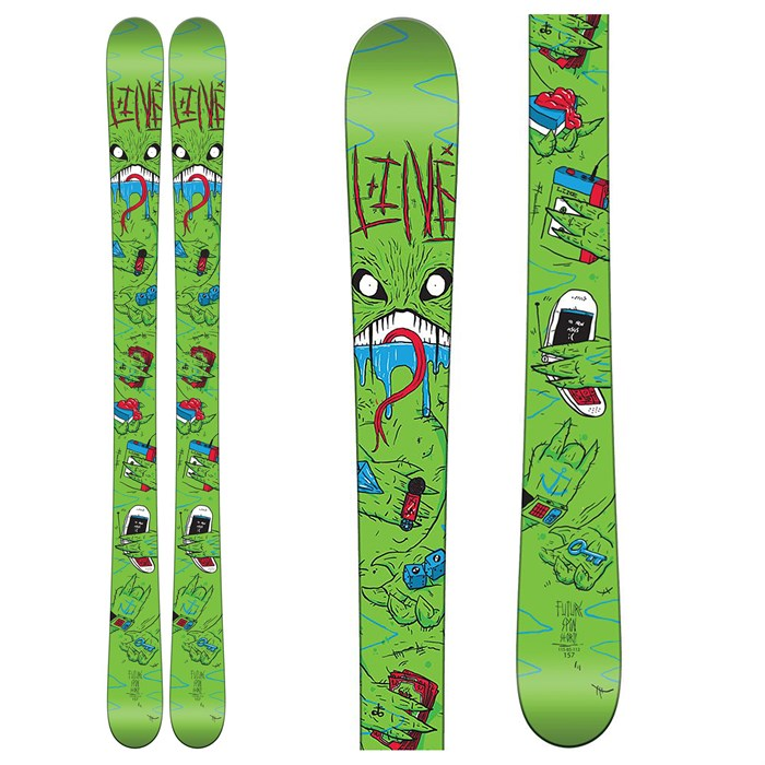 Line Skis - Line Skis Future Spin Shorty Skis - Boys' 2016