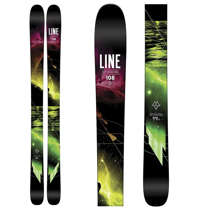 Line Skis - Supernatural 108 Skis 2016