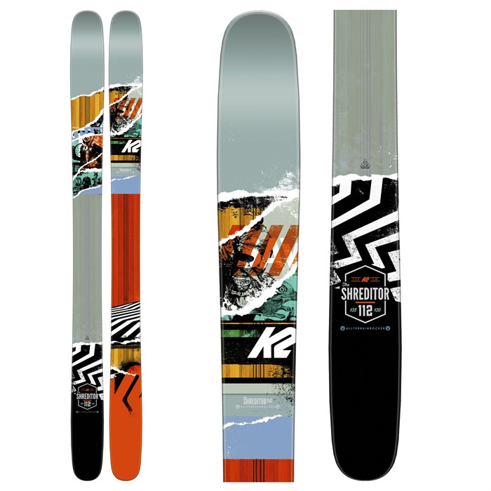 K2 - Shreditor 112 Skis 2016