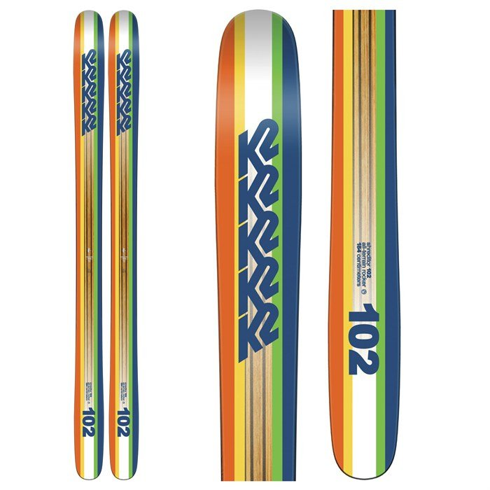 K2 - Shreditor 102 Skis 2016