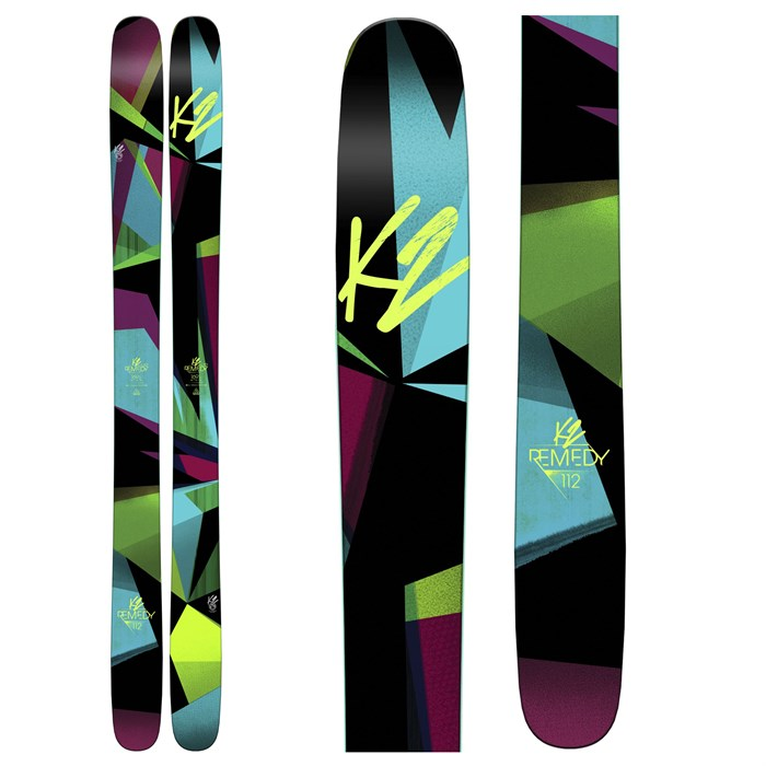 K2 - Remedy 112 Skis - Women's 2016