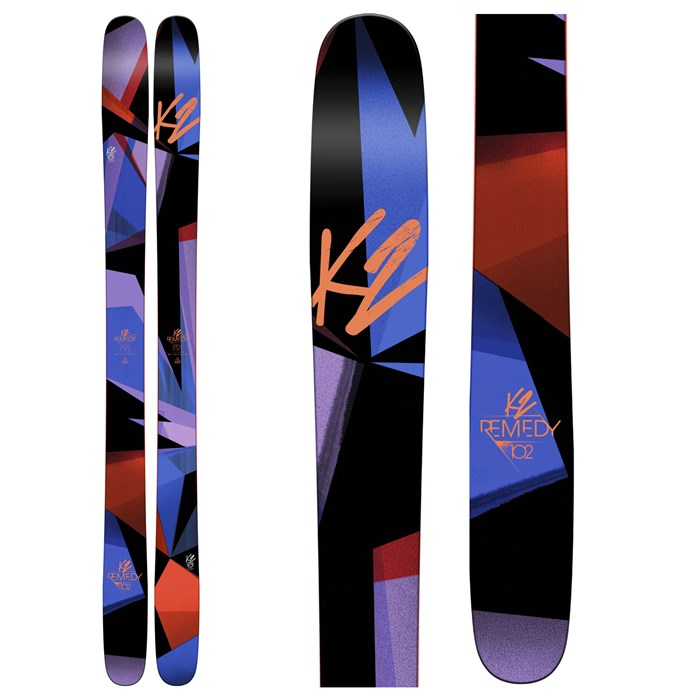 K2 - Remedy 102 Skis - Women's 2017