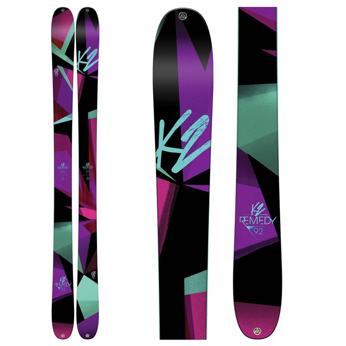 K2 - Remedy 92 Skis - Women's 2017