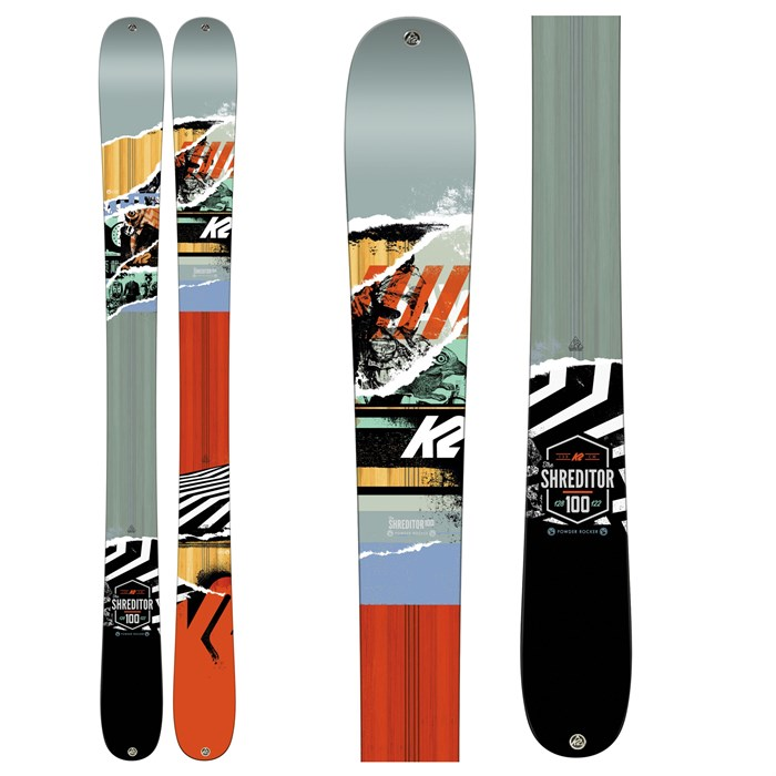 K2 - Shreditor 100 Jr Skis - Boys' 2016