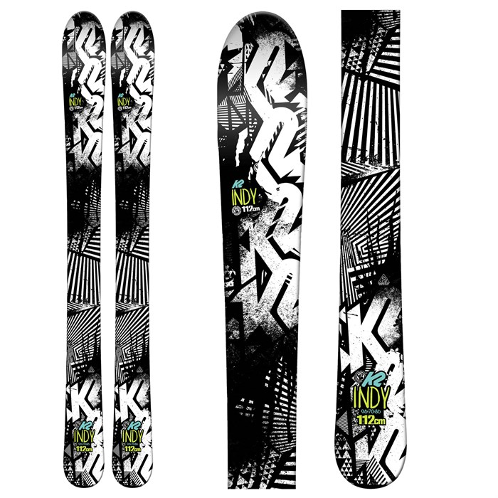 K2 - Indy Skis - Boys' 2016