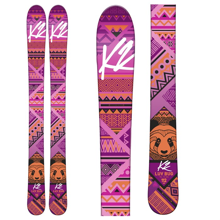 K2 - Luv Bug Skis - Girls' 2016