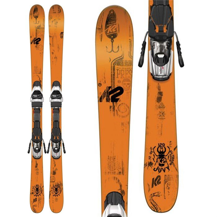 K2 - Juvy Skis + Fastrak2 7 Bindings - Big Boys' 2017