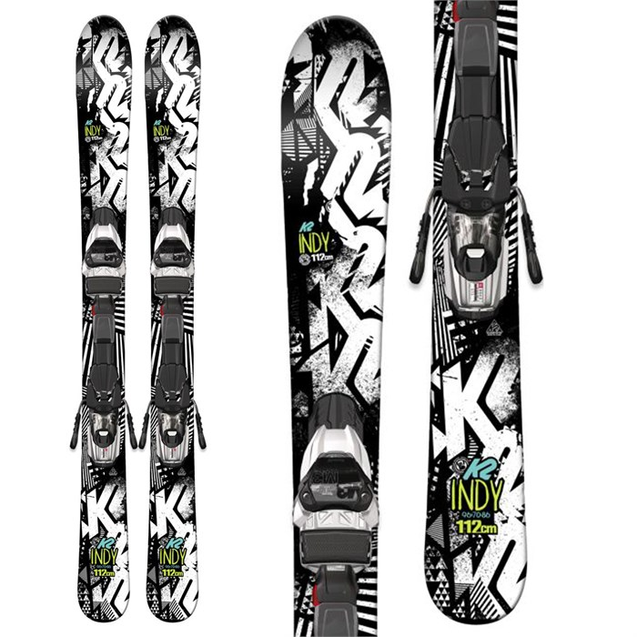 K2 - Indy Skis + Fastrak2 4.5 Bindings - Boys' 2016