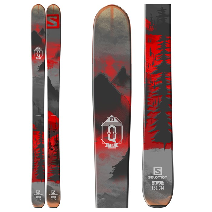 Salomon - Q-105 Skis 2016