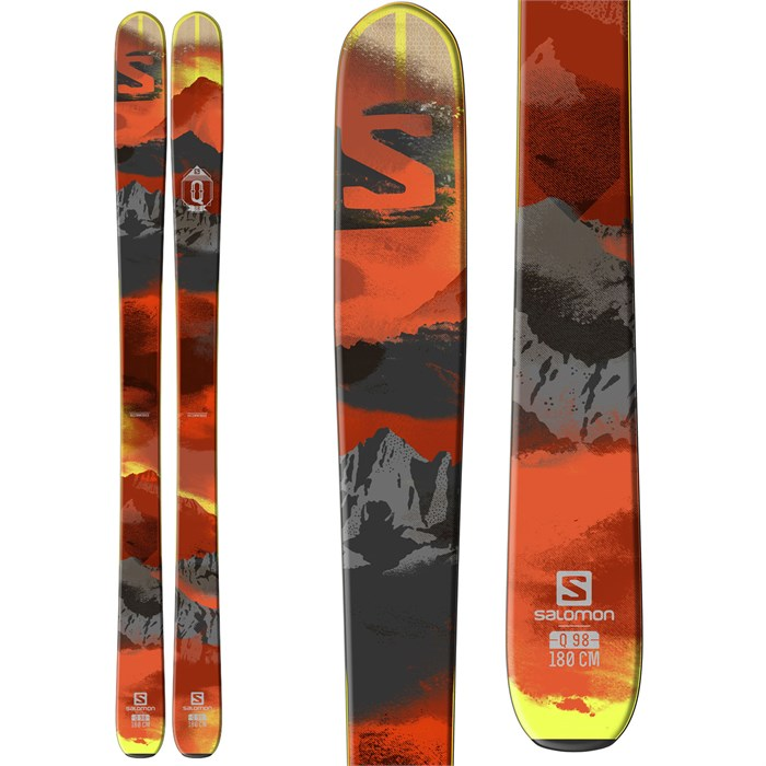Salomon - Q-98 Skis 2016