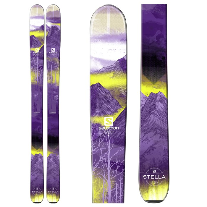 Salomon - Q-103 Stella Skis - Women's 2016