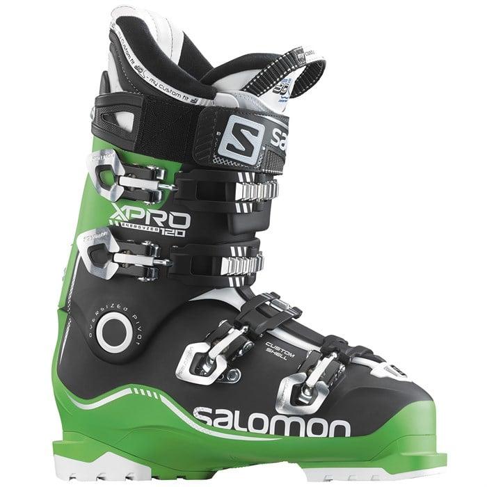 100% hohe Qualität Trennschuhe auf Füßen Aufnahmen von Salomon X Pro 120 Ski Boots 2016