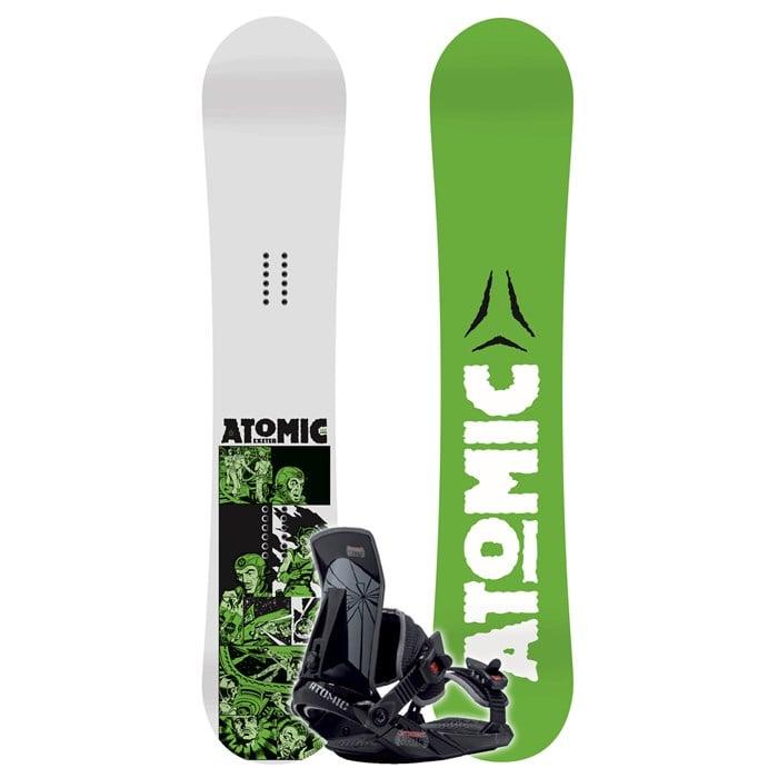 Atomic Exeter Wide Snowboard + Straight Shot Binding 2007