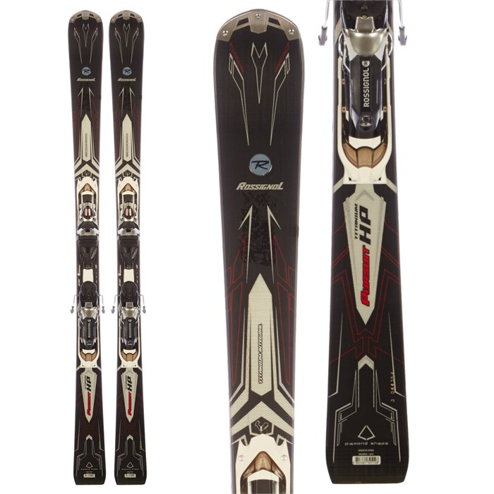 Rossignol Pursuit HP Skis + Axial2 140 Ti Bindings