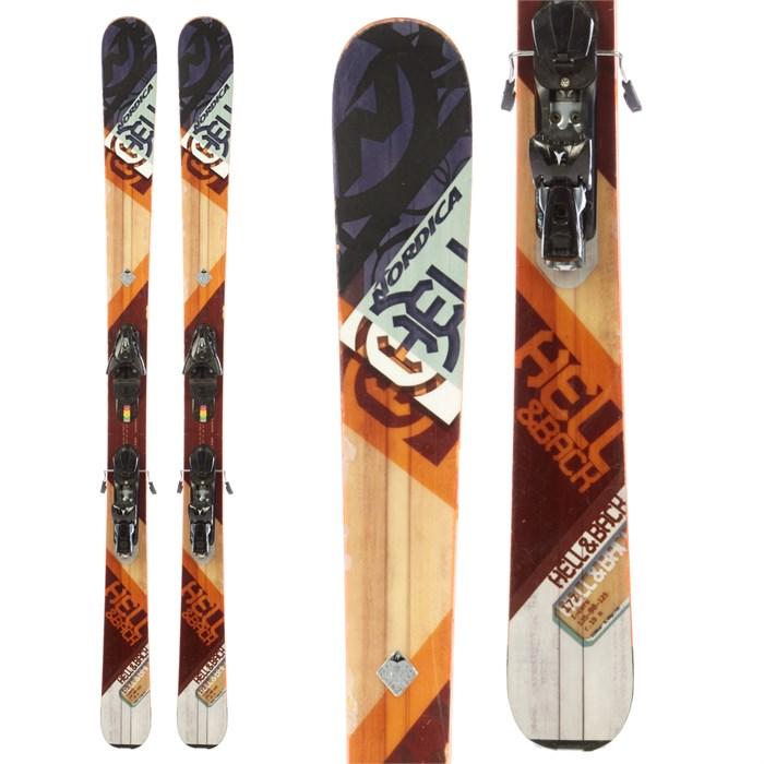 Nordica Hell & Back Skis + Atomic FFG 12 Demo Bindings