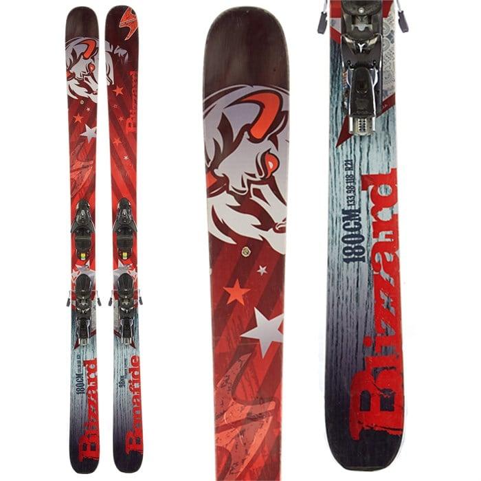 Blizzard Bonafide Skis + Atomic FFG 12 Demo Bindings