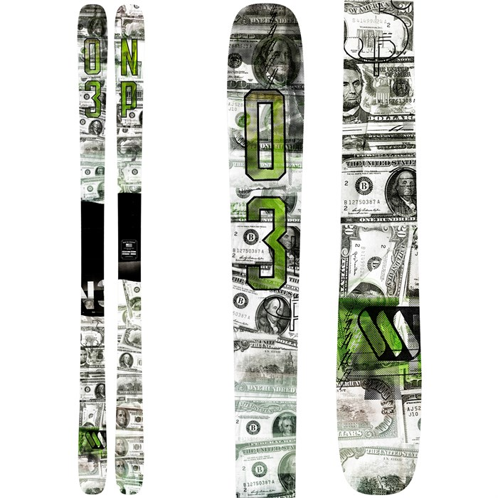 ON3P - Filthy Rich Skis 2016