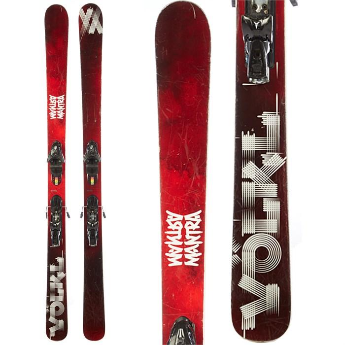 Volkl Mantra Skis + Atomic FFG 12 Demo Bindings
