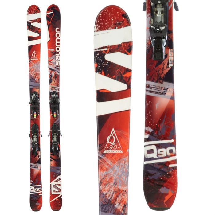 Salomon Q-90 Skis + Atomic FFG 12 Demo Bindings