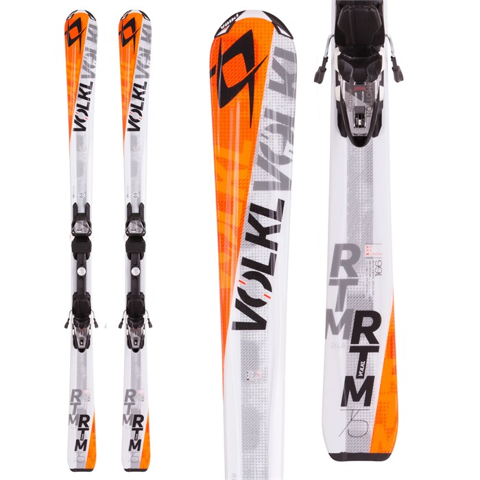 Volkl - RTM 75 Skis + 4Motion 10.0 Bindings 2016