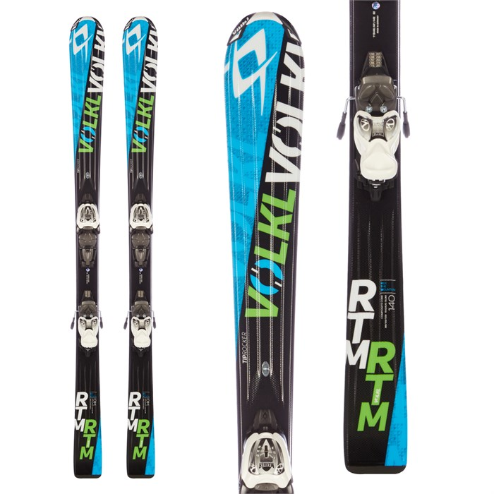 Volkl - RTM Jr Skis + 3Motion Jr 7.0 Bindings - Boys' 2016