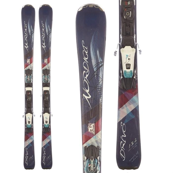 Nordica Drive 78 CA EVO Skis + N ADV P.R. Bindings