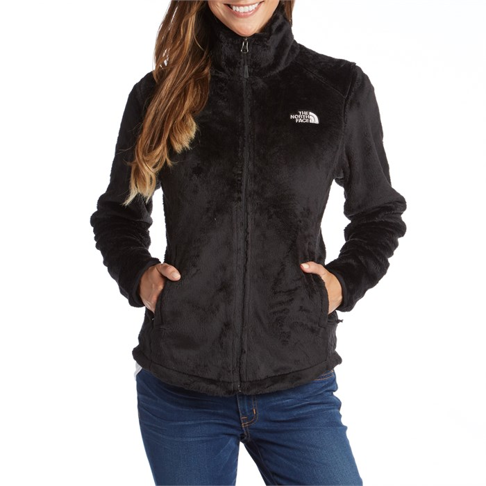 Black north face osito jacket