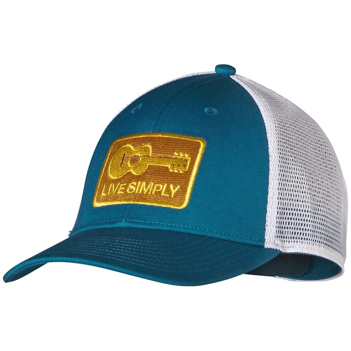 b6e28220 Patagonia - Live Simply Guitar LoPro Trucker Hat ...