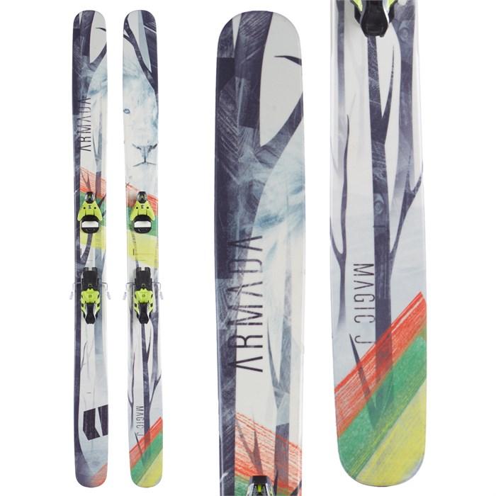 Armada Magic J Skis + Salomon STH2 16 Bindings 2015